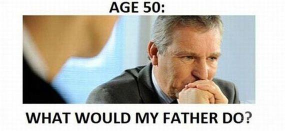 مراحل العمر بين الأب والإبن 0915