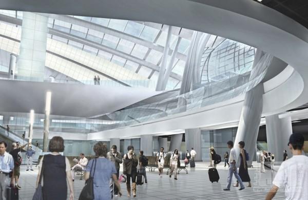 أكبر محطة مترو عالية السرعة