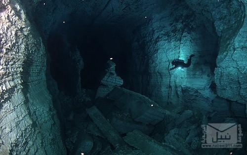 Longest-Underwater-Cave-Ordinskaya-Cave-Russia (2) (500x314)