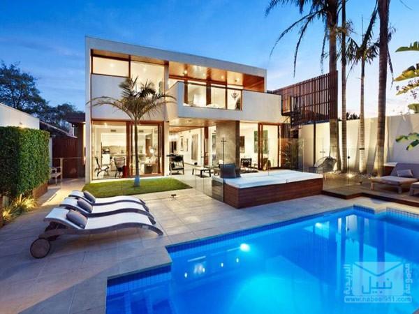 منزل بتصميم فاخر مجموعة نبيل البريدية